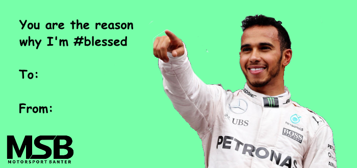 Lewis Hamilton Is Feeling A Bit #blessed Todayu2026