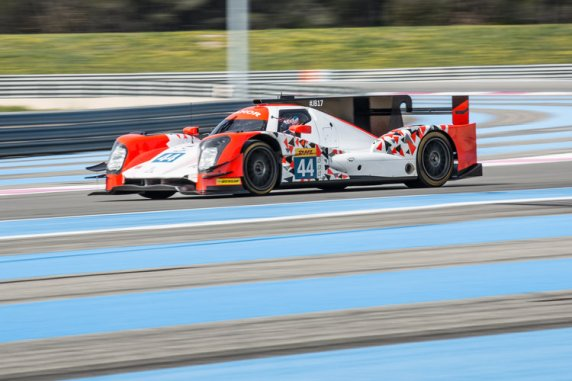 Car #44 / MANOR / GBR / Oreca 05 - Nissan / Tor Graves (GBR) / Matthew Rao (GBR) / Will Stevens (GBR) / James Jake (GBR) - WEC Prologue at Circuit Paul Ricard - Le Castellet - France  -