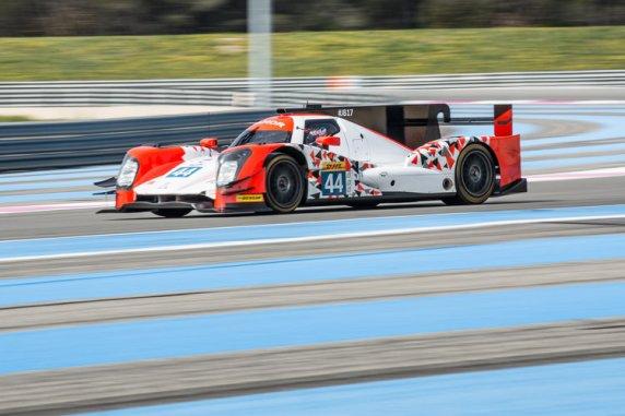 Car #44 / MANOR / GBR / Oreca 05 - Nissan / Tor Graves (GBR) / Matthew Rao (GBR) / Will Stevens (GBR) / James Jake (GBR) - WEC Prologue at Circuit Paul Ricard - Le Castellet - France  -